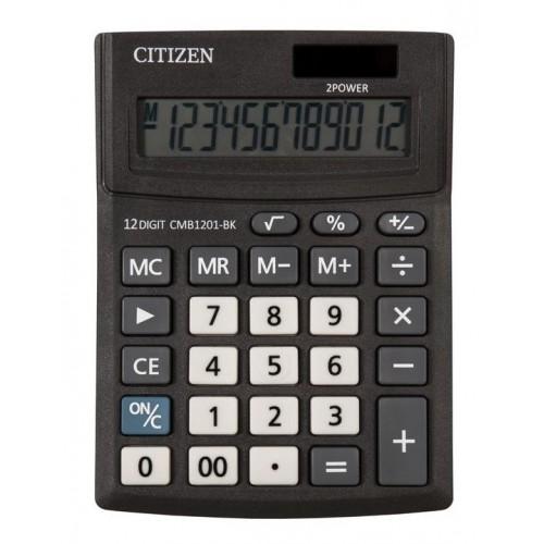 Калькулятор настольный Citizen SD-212/CMB1201BK черный 12-разр