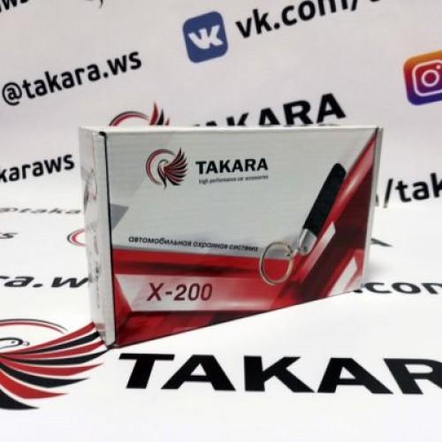 Автосигнализация Takara X-200
