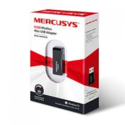 Адаптер Mercusys MW300UM Беспроводной сетевой мини USB-адаптер, с
