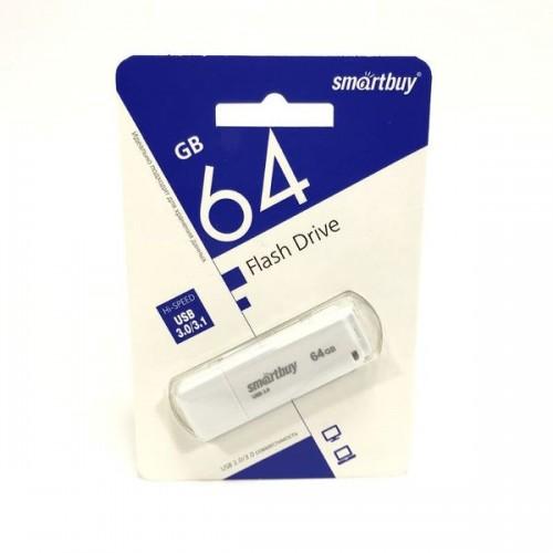 USB Flash накопитель Smartbuy LM05 USB 3.0 64GB белый
