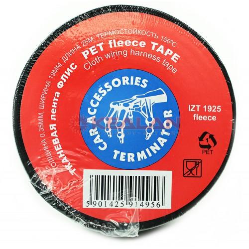 Изолента TERMINATOR IZT 1925 fleece (тканевая)