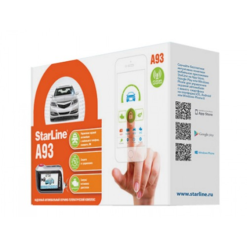Автосигнализация StarLine А93 GSM