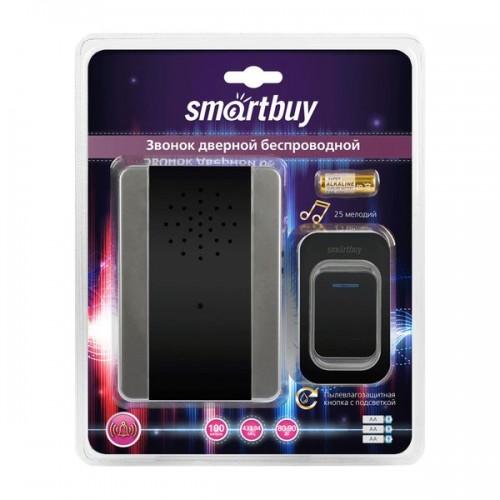 Звонок Smartbuy дверной беспроводной с цифр. код., IP44, подсветк