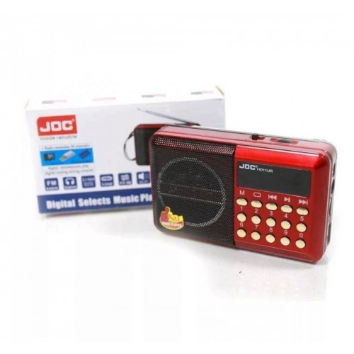Радиоприемник JOC H011BT Red