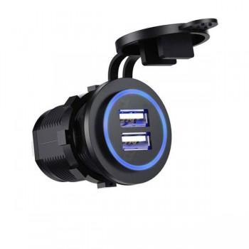 Зарядное устройство SKU16P-2.4A+3.0А 2USB QuickCharge