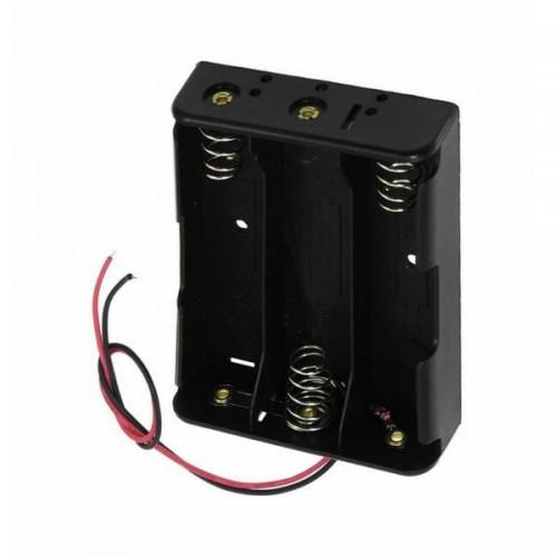 Отсек для элементов питания ET AA 3S1P-BWS с проводами и выключат