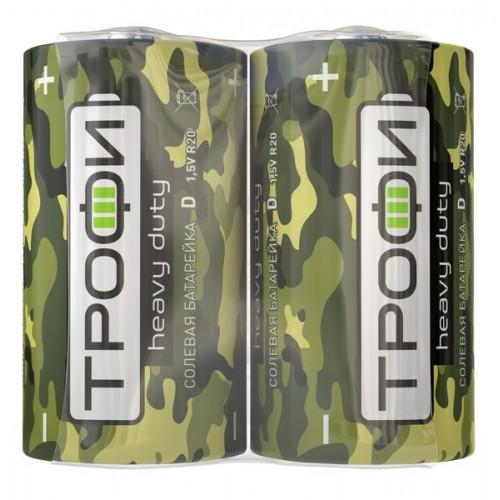 Элемент питания Трофи R20-2S Классика (12/288/4608) (цена за 1 шт