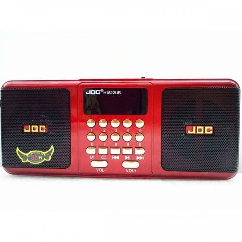 Радиоприемник JOC H1822UR (USB/SD/microSD/FM) red