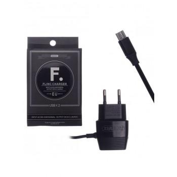 Зарядное устройство Remax RP-U29 microUSB (2.4A,2USB) white