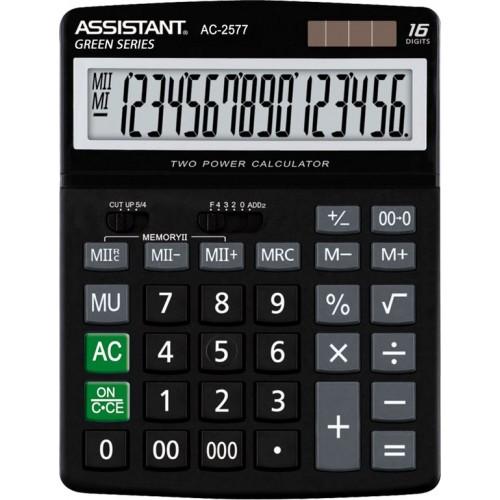 Калькулятор настольный Assistant AC-2577 (000) настольный большой