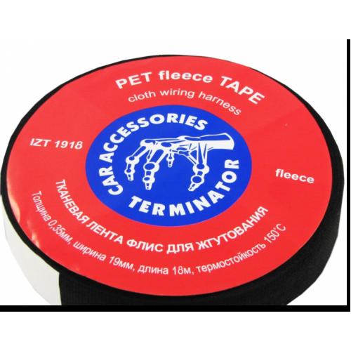 Изолента TERMINATOR IZT 1918 fleece (тканевая)