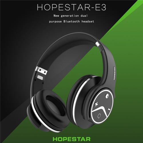 Наушники HopeStar E3 Bluetooth black