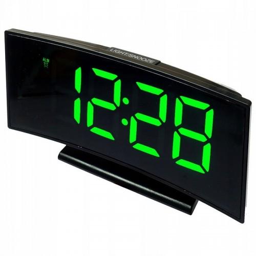 Электронные часы DS-3621-L (зеленая подсветка)