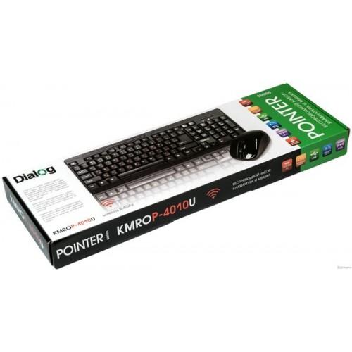 Набор Dialog Pointer KMROP-4010U, черный, RF 2.4G - USB, радиокла