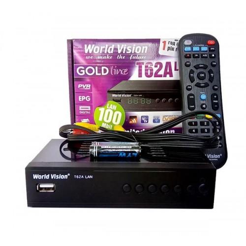 Цифровая приставка T2 World Vision 62A DVB-T2 LAN PORT