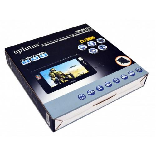 Автомобильный портативный телевизор Eplutus EP-9511T + DVB-T2