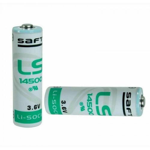Аккумулятор SAFT LS 14500 AA, 3.6V, 2.25Ah/150mA, Li-SOCL2  # 109