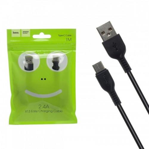 Кабель Hoco X13 Easy USB - Type-C, 1.0м