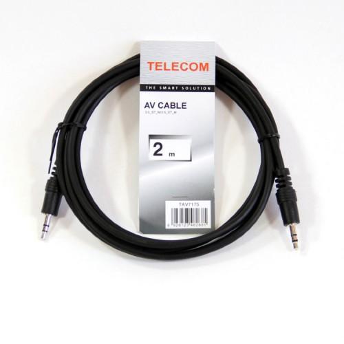 Кабель соединительный Telecom 3.5 Jack (M) - 3.5 Jack (M), стерео