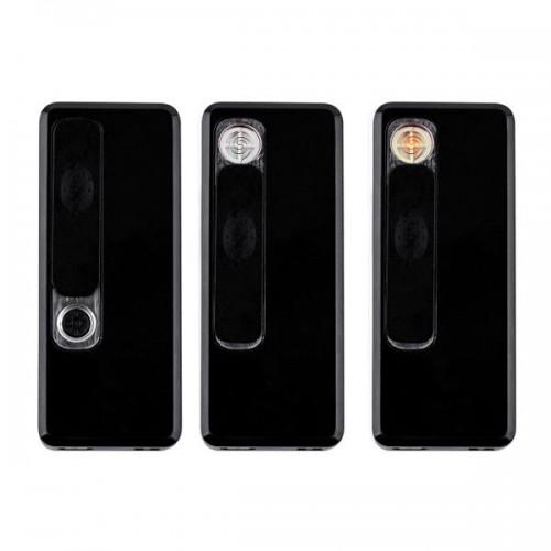 Зажигалки USB E002 BLACK (12 шт)