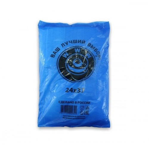 ПАКЕТ Фасовочный 24*37cm 10мкм (за упаковку 100 шт)