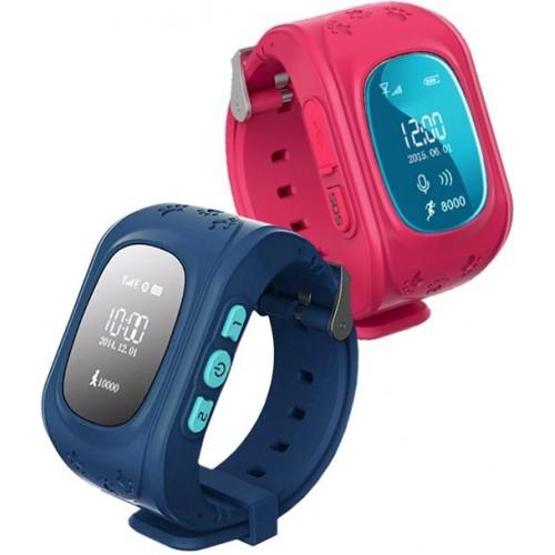 Часы-телефон Кнопка Жизни К911, черный, детские, GPS/LBS, кнопка