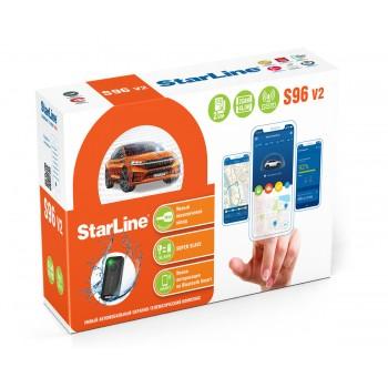 Автосигнализация StarLine S96 v2 BT 2 CAN+4LIN 2SIM GSM