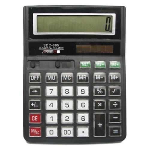 Калькулятор SDC 885