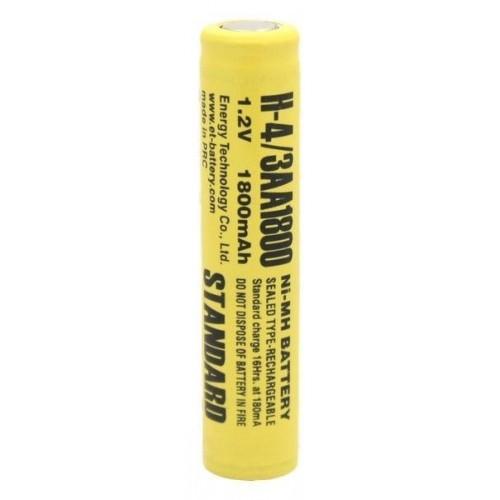 Аккумулятор ЕТ H-4/3AA1800 STANDARD 14.5*65.0 1800mAh NI-MH (цена