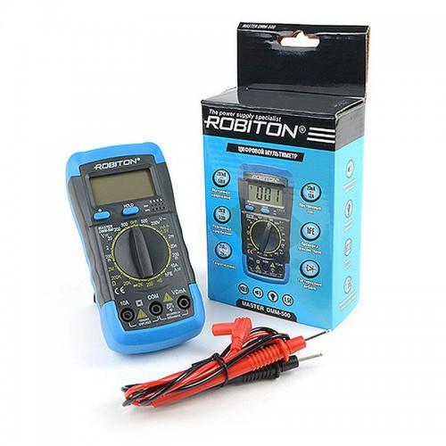 Мультиметр Robiton Master DMM-500 BL1 1/60