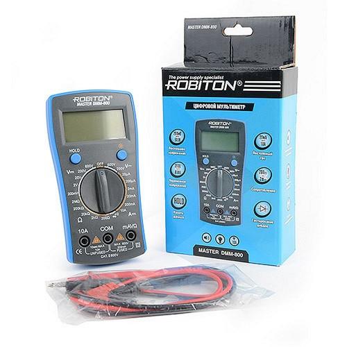 Мультиметр Robiton Master DMM-800 BL1 1/80