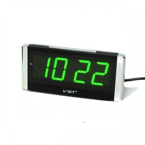 Электронные часы VST 731/2  (зеленая подсветка)