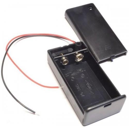 Отсек для элементов питания ET 6F22 1S1P-W с проводами