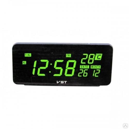 Электронные часы VST-763W/4 Цвет - Зеленый