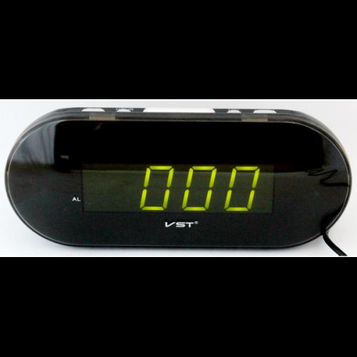 Электронные часы VST-715/4  (зеленая подсветка)