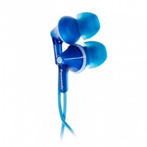 Наушники Panasonic RP-HJE125E-A, синие. Вакуумные. Частотный диап