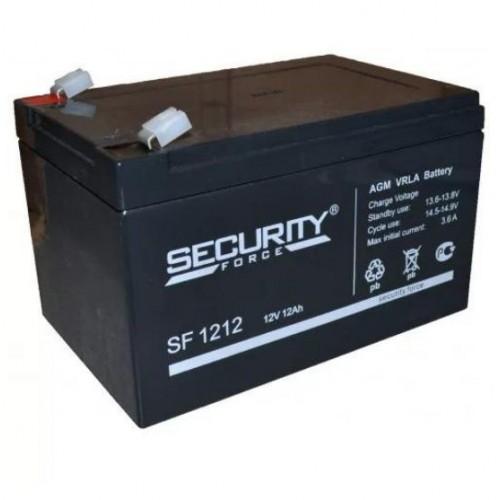 Аккумулятор Security Force SF 1212 12V 12Ah (1/4)