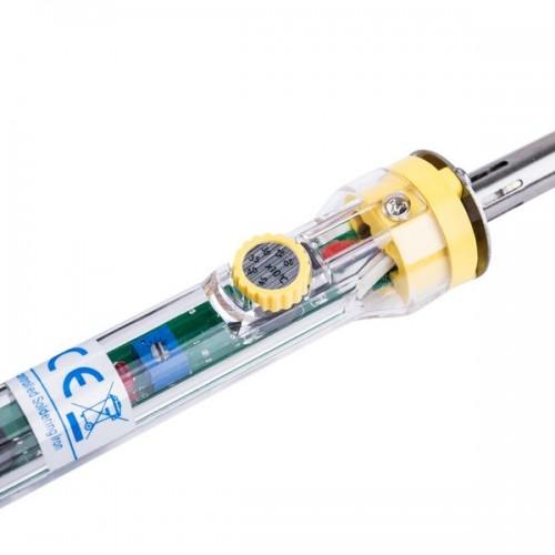 Паяльник Rexant с регулятором температуры, 230 В, 30-50 Вт