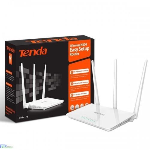 Беспроводной маршрутизатор Tenda F3, 802.11a/b/g/n, 300 Мбит/с, 2