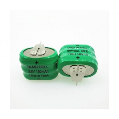 Аккумулятор ЕТ B150H BL1 23.5*15.1*5.7мм, 150мАч, Ni-Mh с ребром,