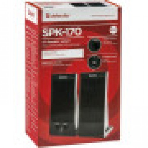 Активная система Defender SPK-170, USB, 2.0, чёрная. Регулятор гр