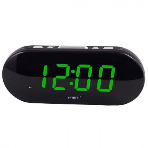 Электронные часы VST-715/2  (зеленая подсветка)