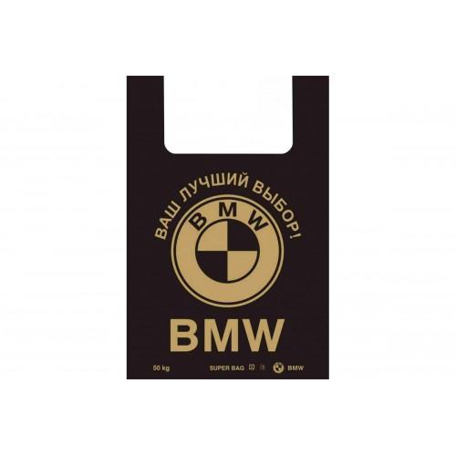 ПАКЕТ МАЙКА BMW 43*52cm 30мкм (за упаковку 50 шт)