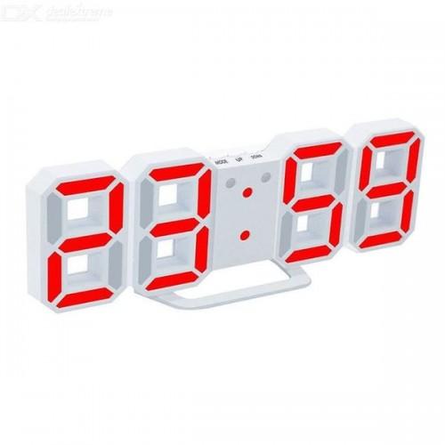Электронные часы DS 9018 Красный (рег.яркости, питание шнур USB, ...