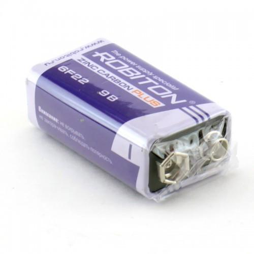 Элемент питания Robiton Plus R-6F22-SR1 6F22 9V SR1, 10 шт (цена ...