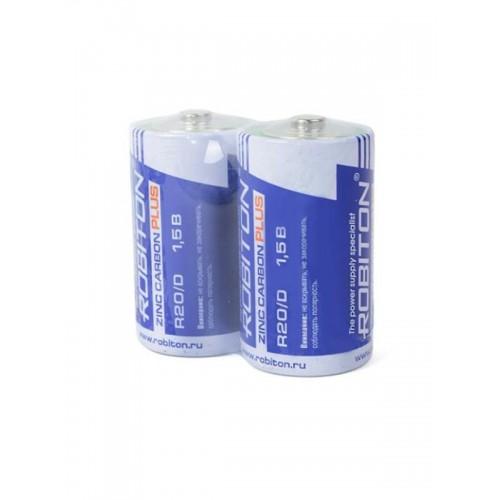 Элемент питания Robiton Plus R-R20-SR2 R20 SR2, 12 шт (цена за 1 ...