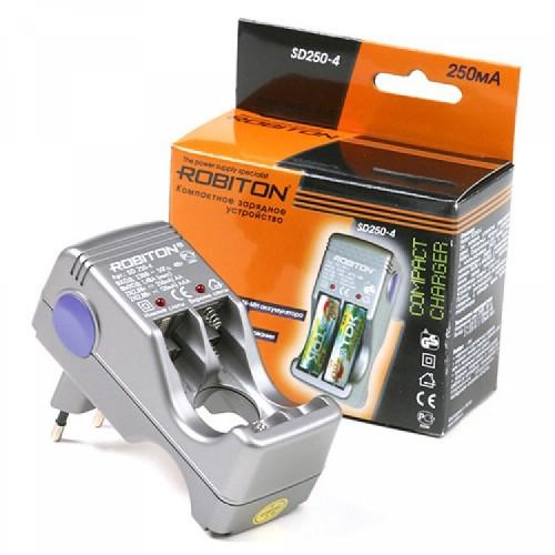 Зарядное устройство Robiton SD250-4 (2-4 АА/ААА, 250мА) (1) (20)