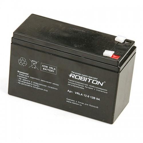 Аккумулятор Robiton VRLA 12-9 12V 9Ah (5)
