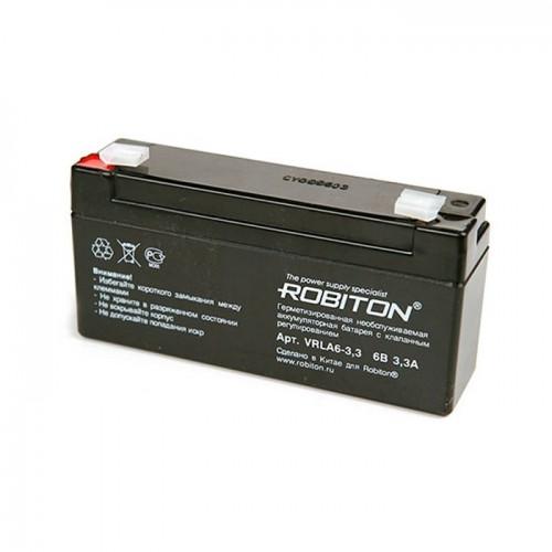 Аккумулятор Robiton VRLA 6-3.3 6V 3,3Ah (20)