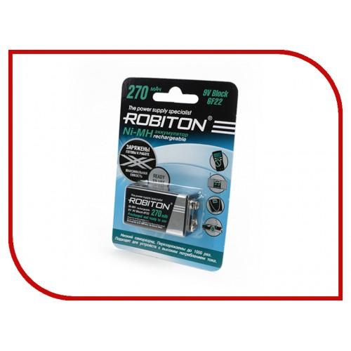 Аккумулятор Robiton RTU270MH-1 BL1 1 (крона) 270 mAh Ni-Mh